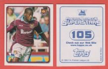 West Ham United Paolo Wanchope Costa Rica